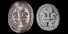 Sassanian Inscribed Stamp Seal with Horned Motif