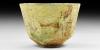 Sassanian Facet-Cut Glass Cup
