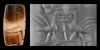 Cylinder Seal with Persian Birds