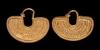 South Arabian Gold Earrings