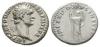Domitian - Minerva Denarius