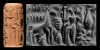 Cylinder Seal with Standing God