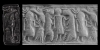 Cylinder Seal with Figures and Ibexes