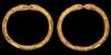 Gold Bracelet Pair