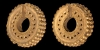 Achaemenid Gold Earrings