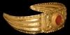Gold Diadem with Intaglio Gemstone