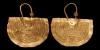 South Arabian Gold Earring Pair