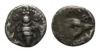 Ionia - Ephesos - Eagle and Bee Hemiobol