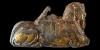 Grand Tour Egyptian Gilt Sphinx Inlay