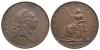 George III - 1788 - Soho Droz Pattern Copper Halfpenny