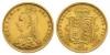 Victoria - 1887JH - Gold Half Sovereign