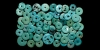Turquoise Disc Bead or Whorl Collection