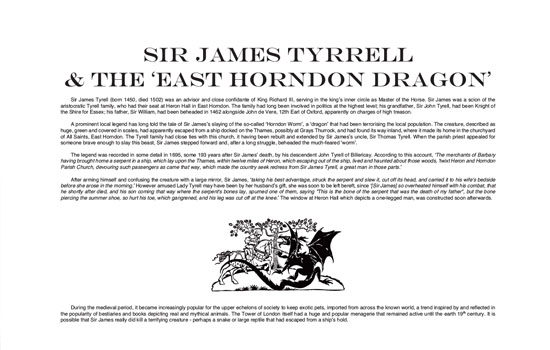 East Horndon Dragon Legend