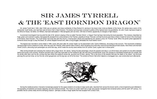 East Horndon Dragon Legend