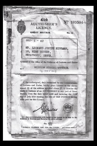 Old Licence