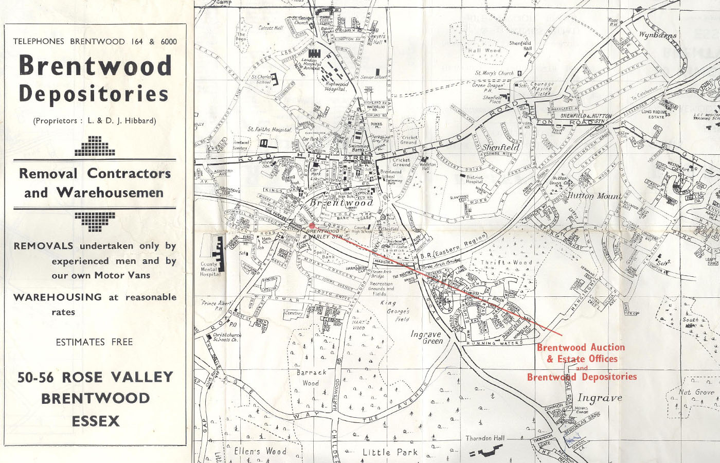 Local auction history by timeline auctions for The brentwood