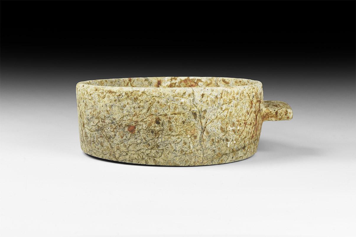 Western Asiatic Achaemenid Handled Stone Cup