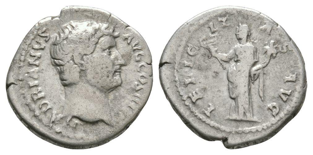 Ancient Roman Imperial Coins - Hadrian - Felicitas Denarius