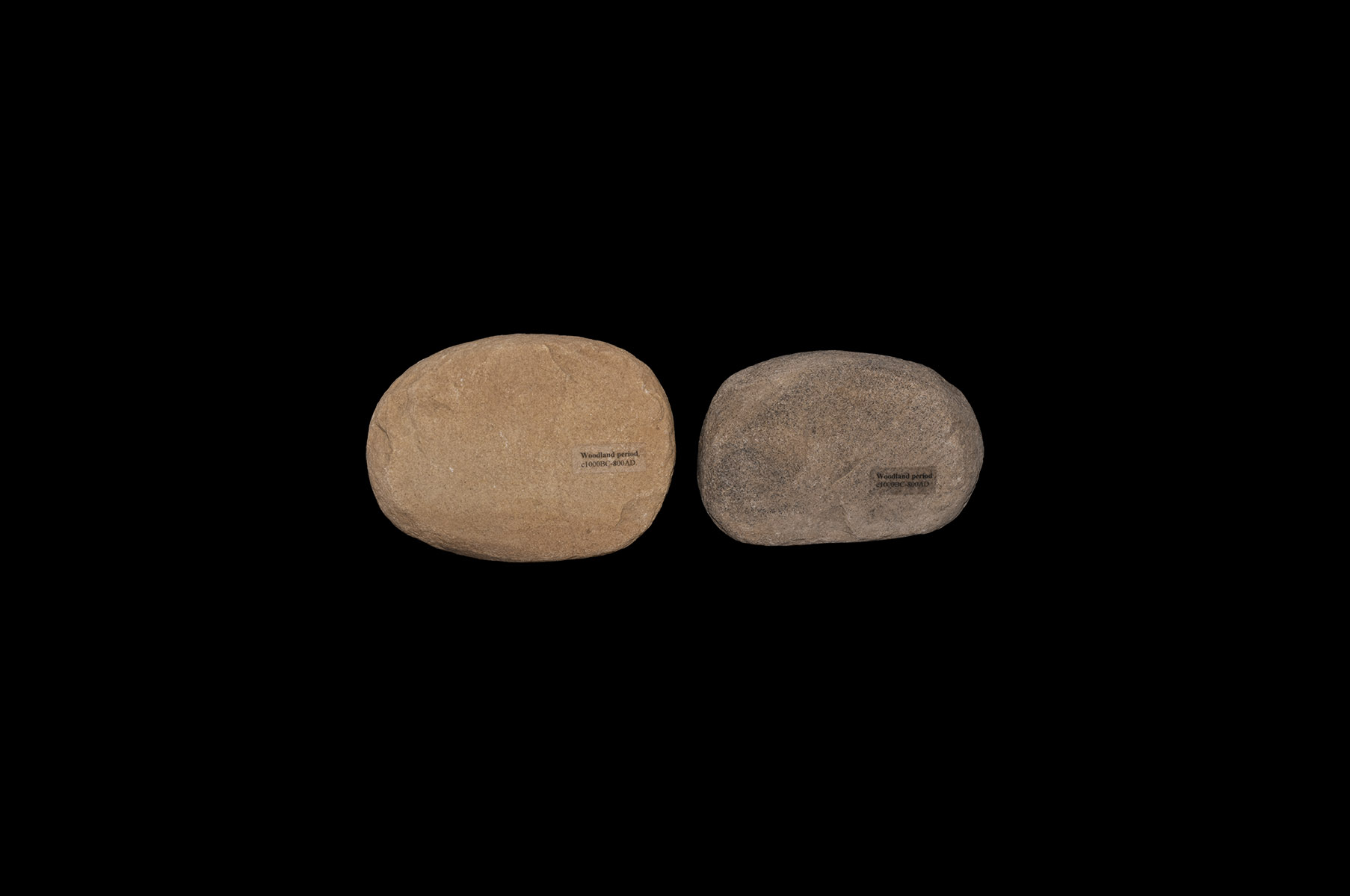 North American Indian Grinding Stone Group