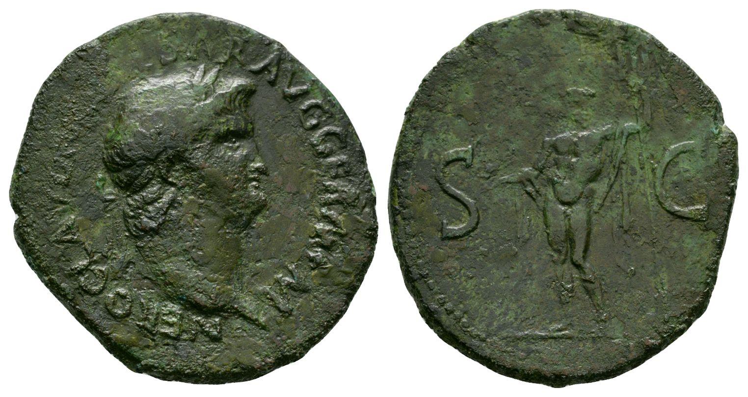 Ancient Roman Provincial Coins - Nero - Perinthus - Bronze