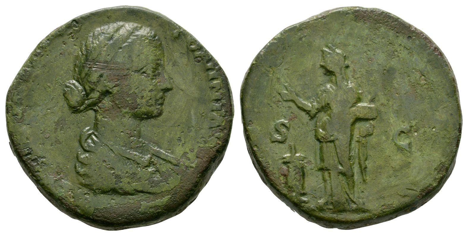 Roman Imperial Coins - Lucilla - Pietas Sestertius