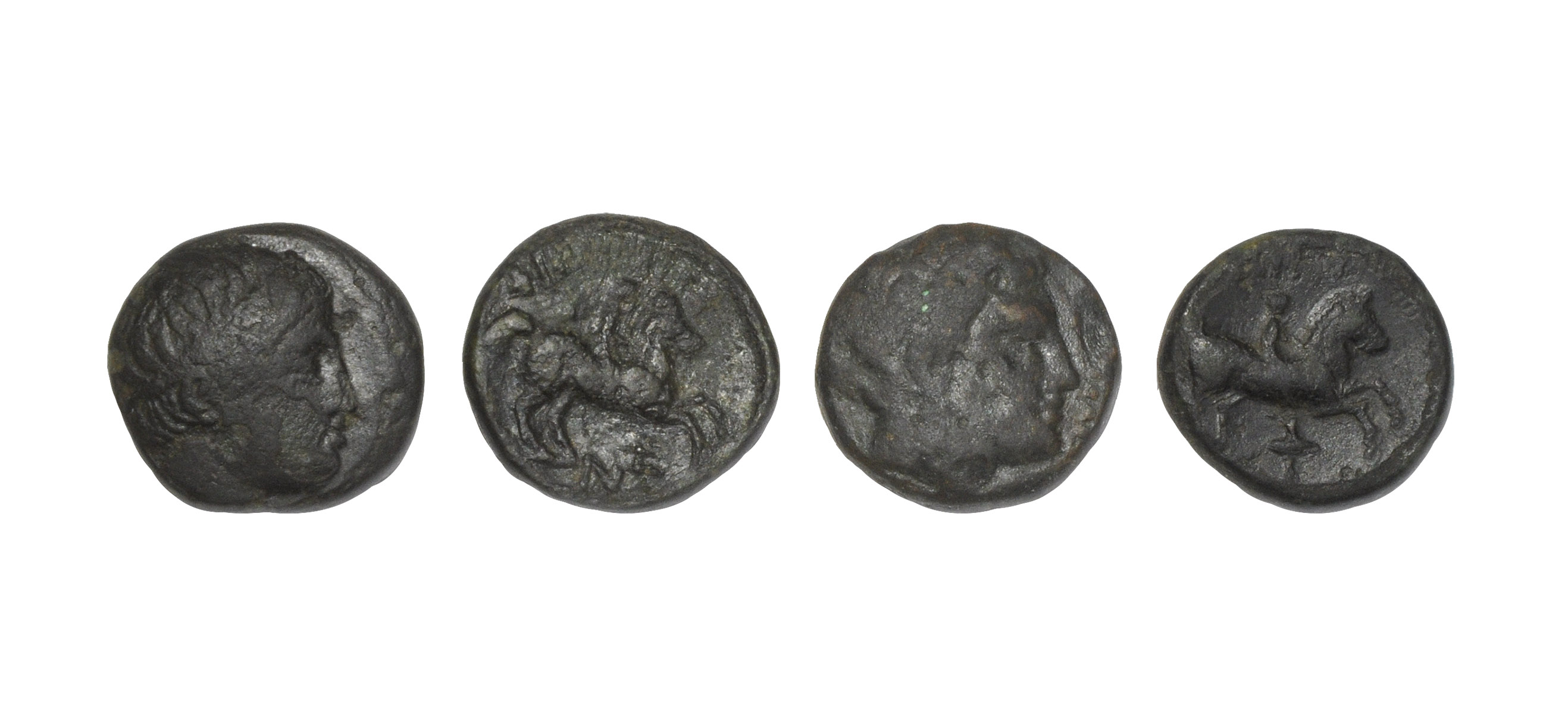 Ancient Greek Coins - Macedonia - Bronze Units [4]