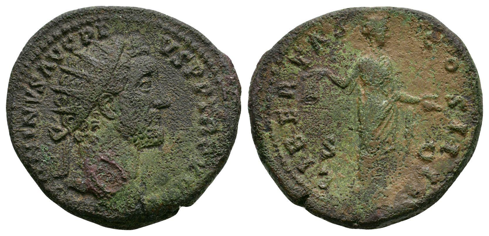 Roman Imperial Coins - Antoninus Pius - Libertas Dupondius
