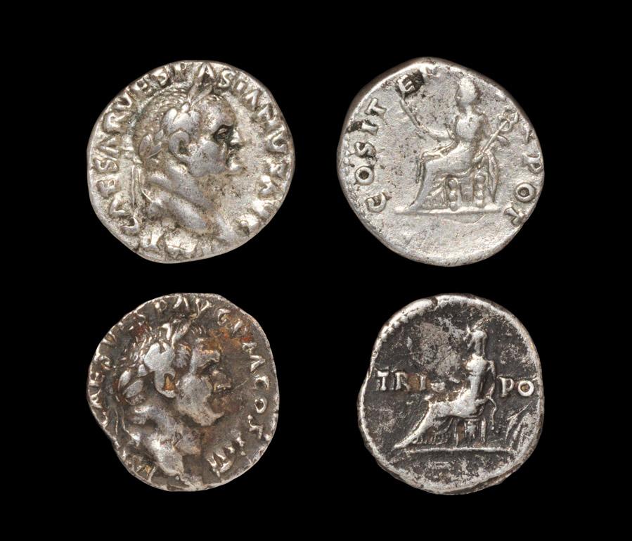 Roman Vespasian - Denarii [2