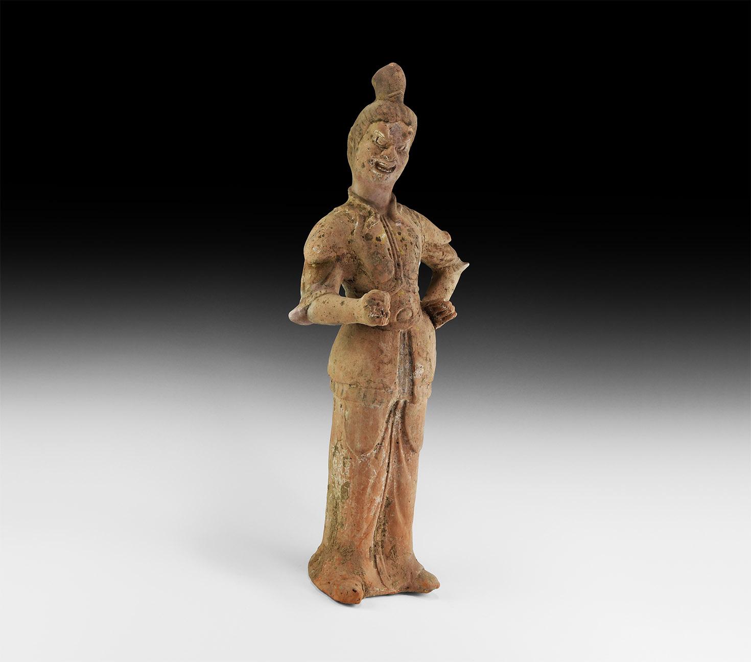 Chinese Tang Lokapala Figure