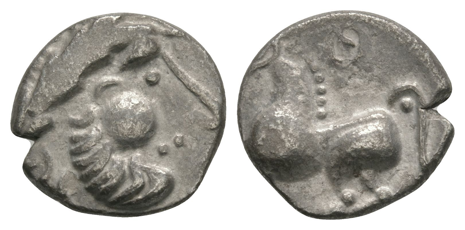 Celtic Iron Age Coins - Celti-Iberian - Horse Unit