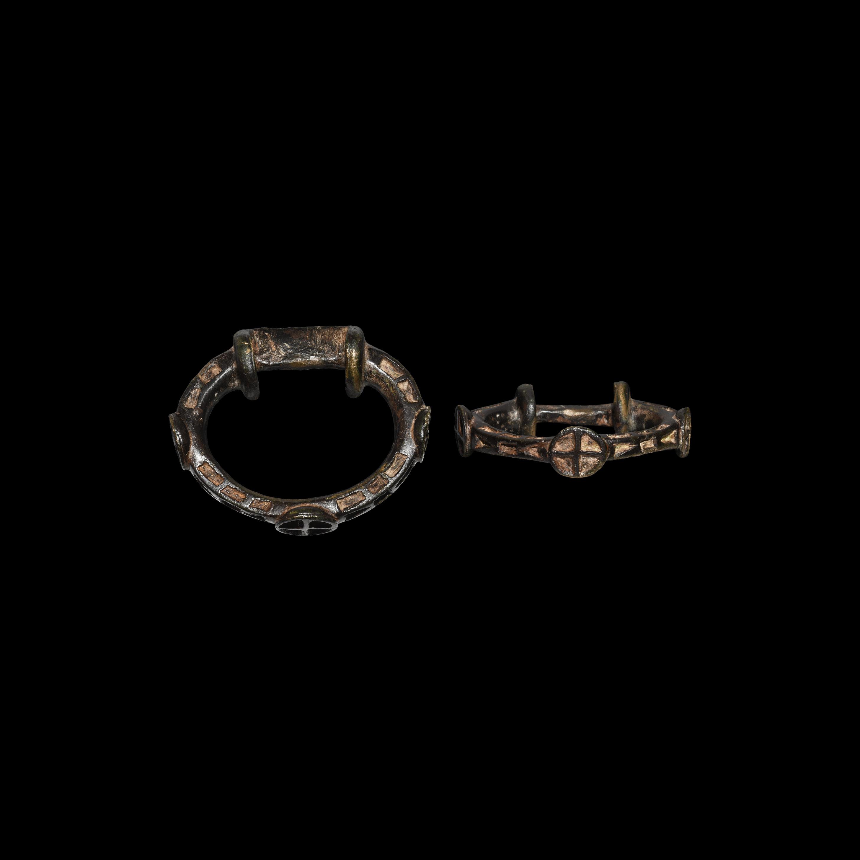 Iron Age Celtic Elaborate Terret Ring