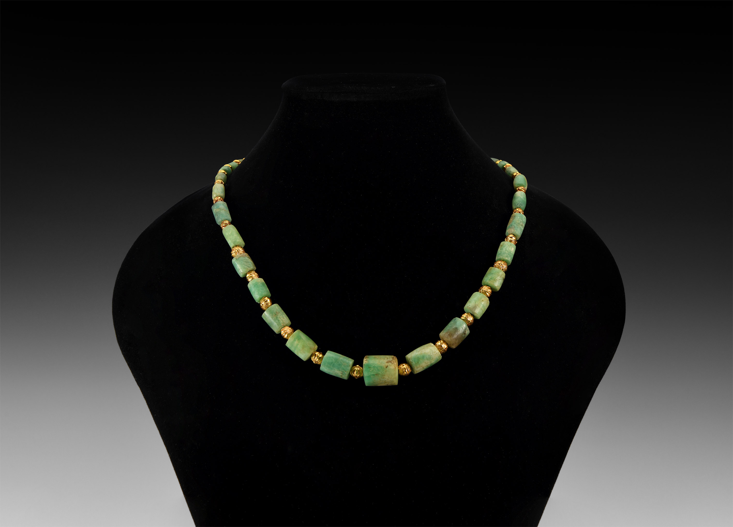 Natural History - Onyx Bead Necklace