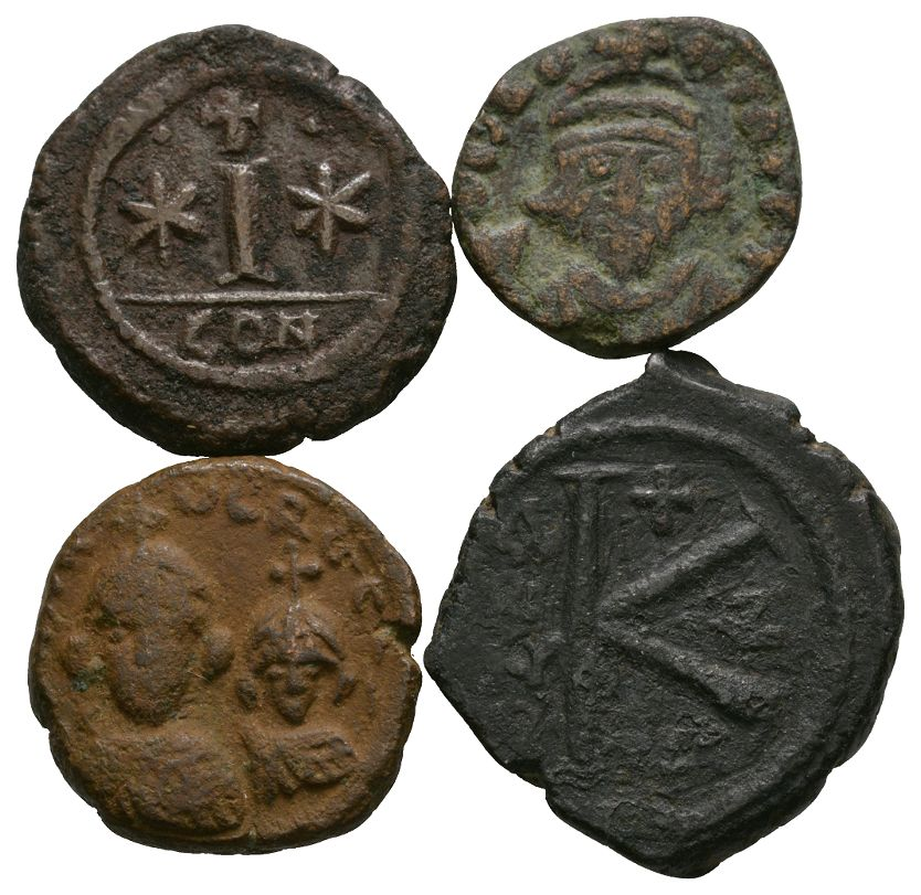 Byzantine Coins - Small Bronzes Group [4]