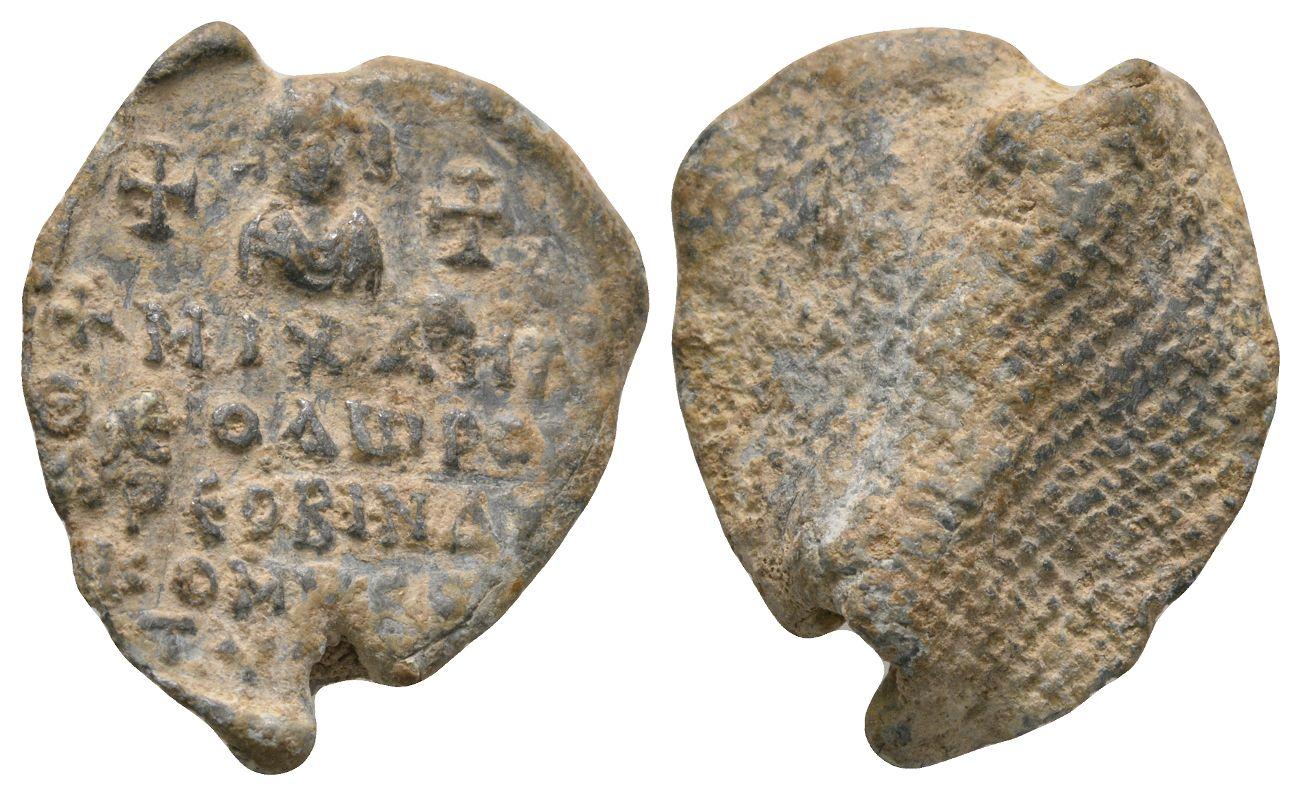 Byzantine Seals - Uniface Lead Seal