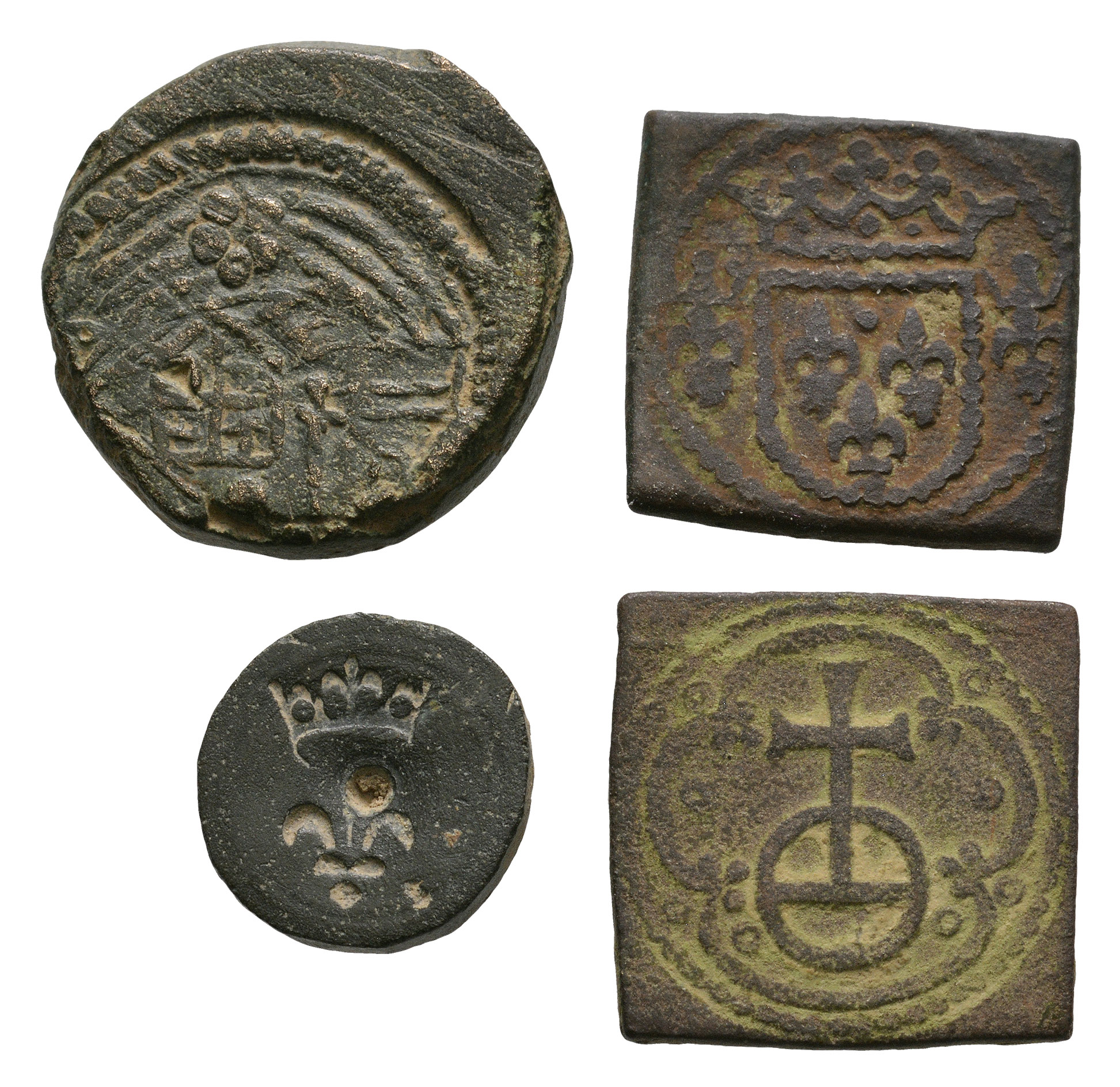 English Medieval Coins - Coin Weight Group [4]