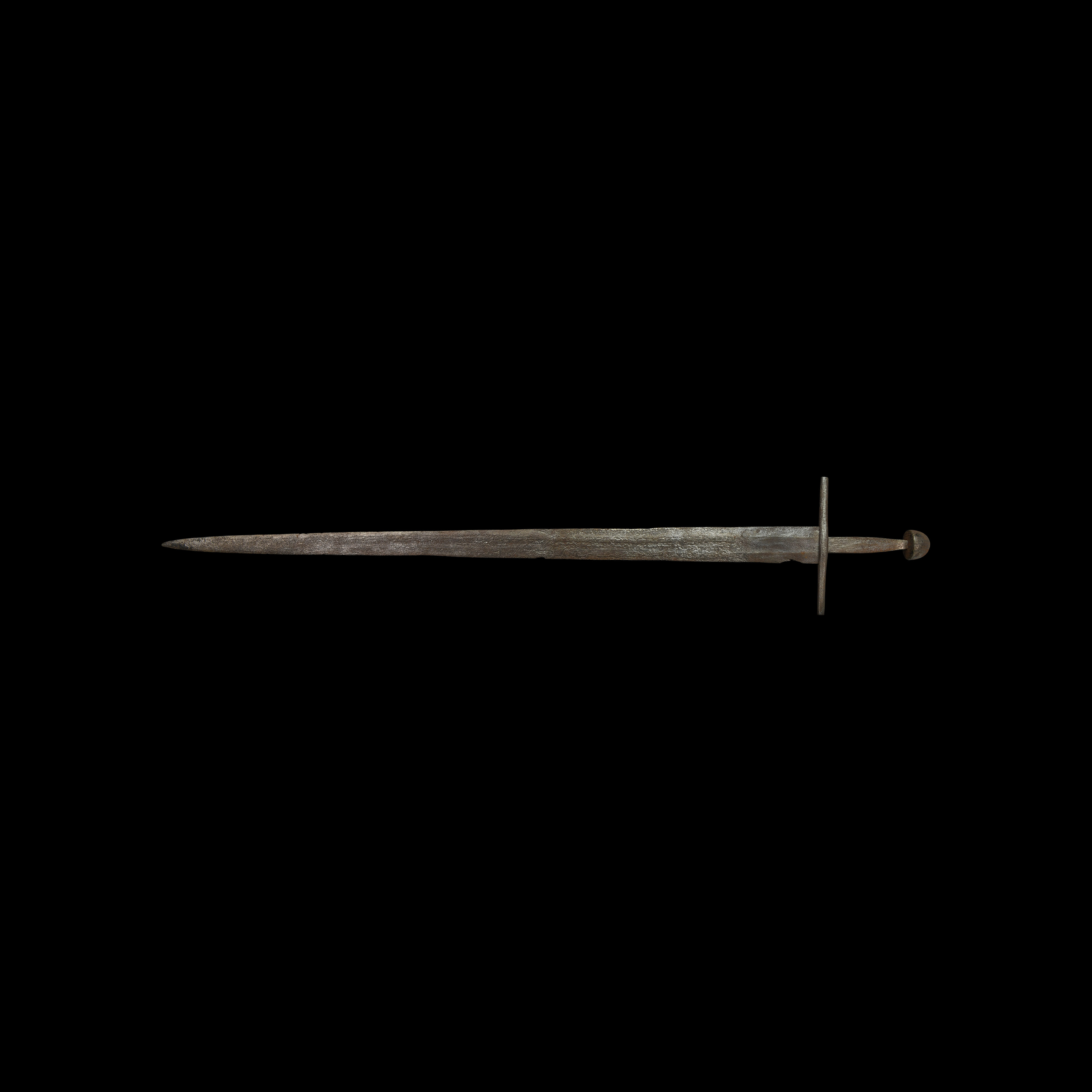 Medieval Single-Handed Double-Edged Sword
