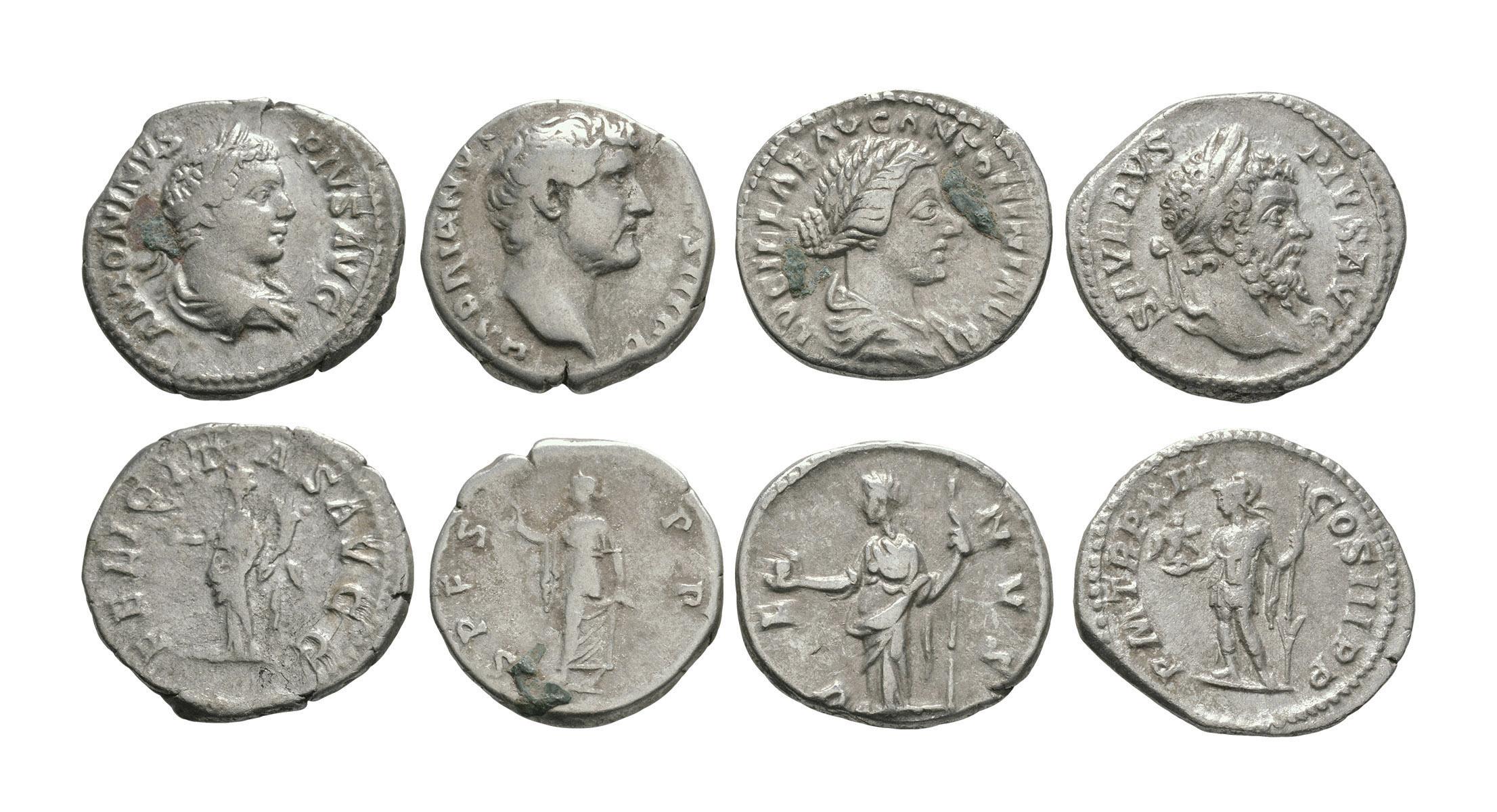 Ancient Roman Imperial Coins - Trajan to Caracalla - Denarii [4]
