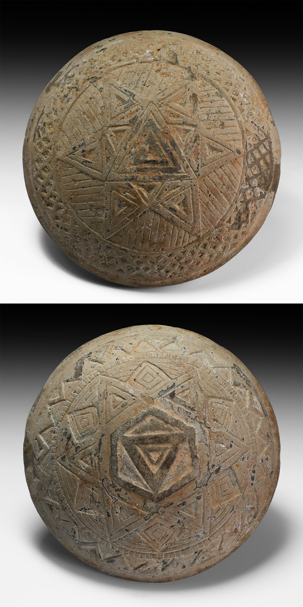 Pre-Columbian Discus with Star Design