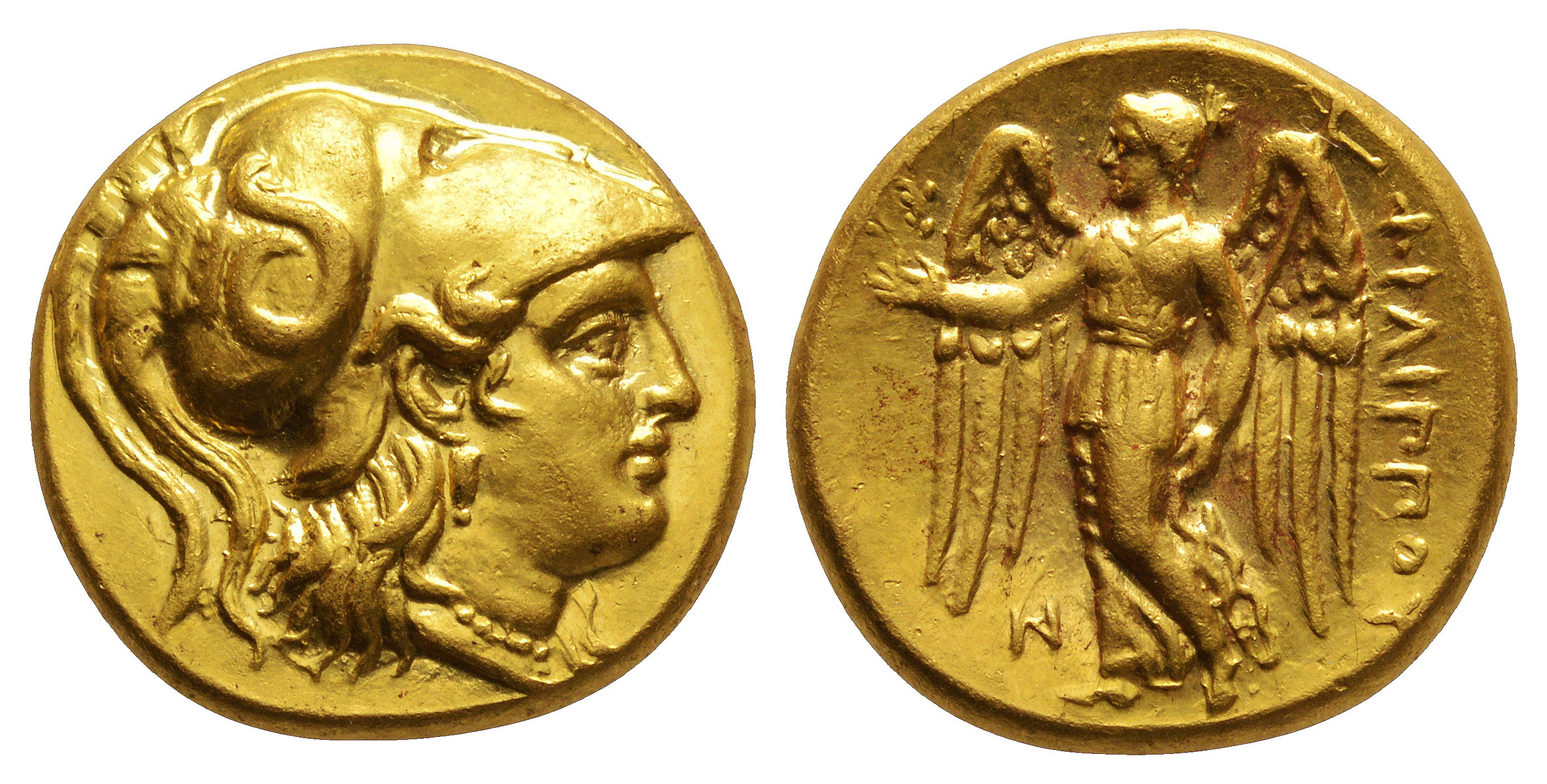 Ancient Greek Coins - Macedonia - Philip III Arrhidaeus - Gold Stater