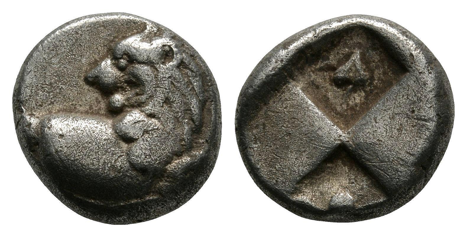 Ancient Greek Coins Thrace - Cherronesos - Lion Hemidrachm