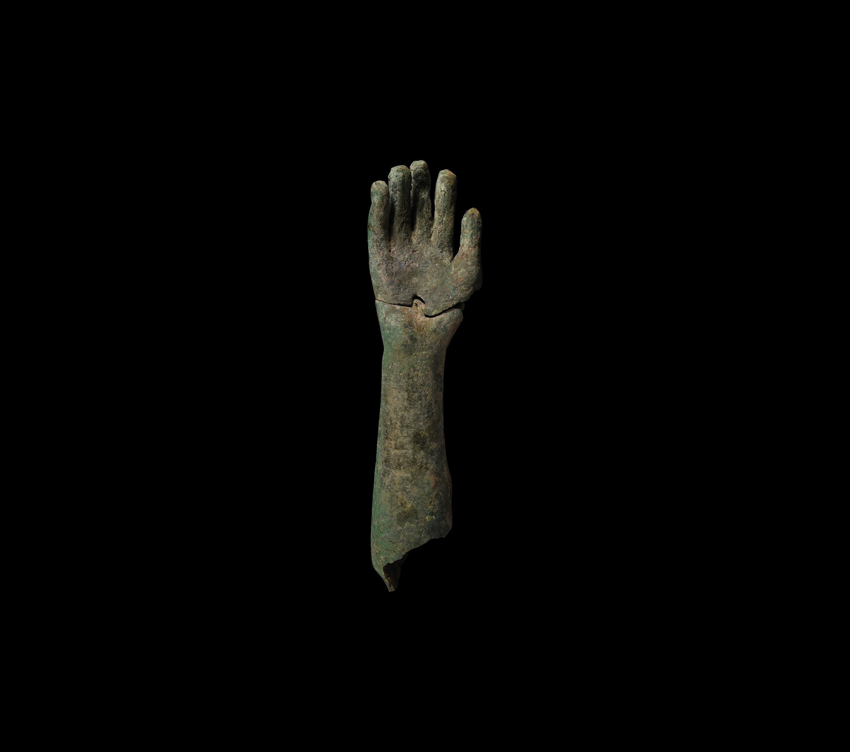 Roman Life-Size Statue Arm