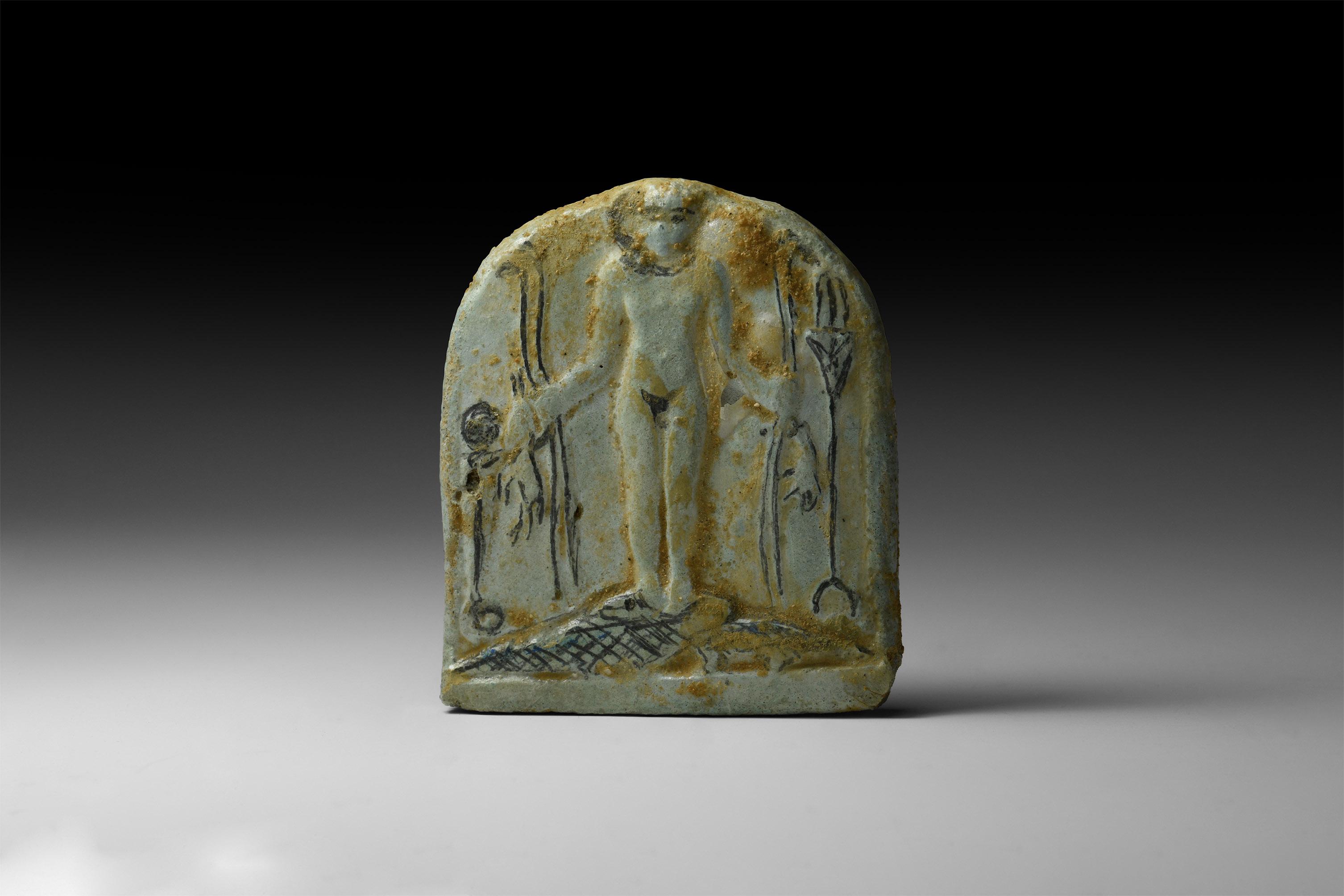 Romano-Egyptian Harpokrates Amulet