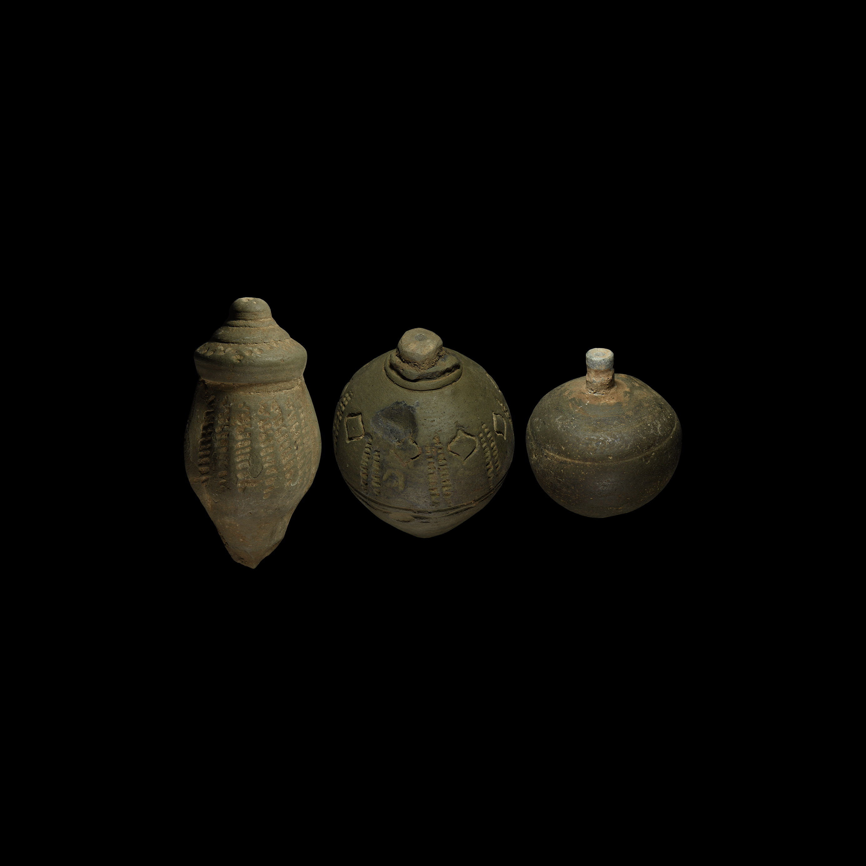 Byzantine Greek Fire Fire Bomb or Hand Grenade Group