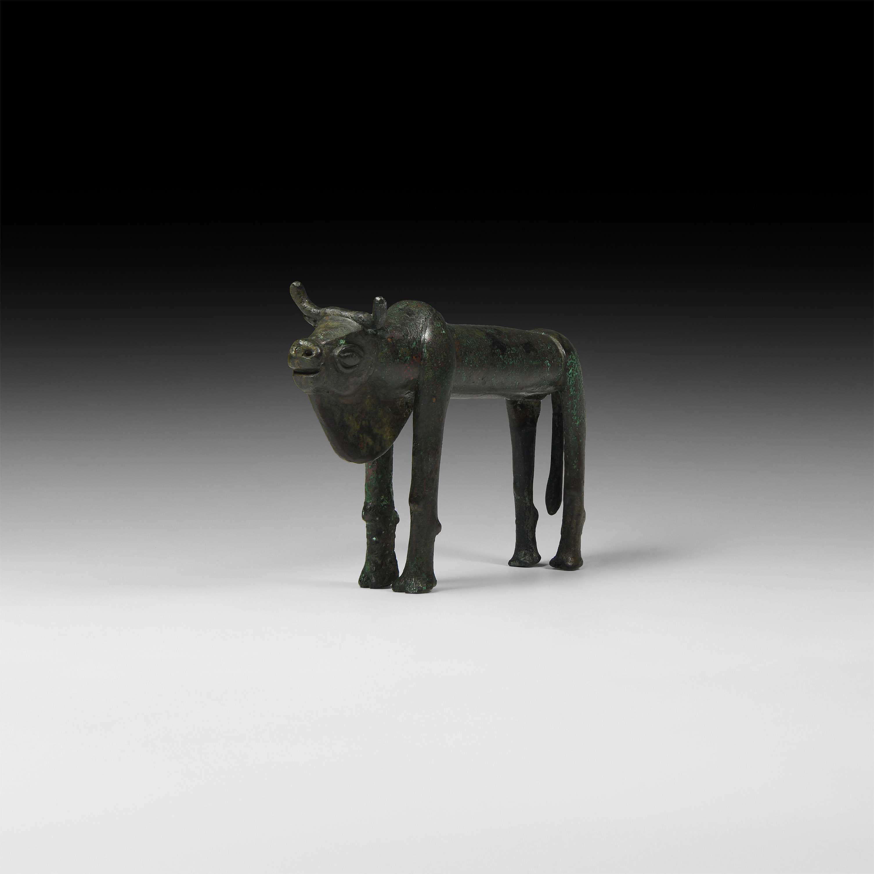 Western Asiatic Standing Bull Statuette