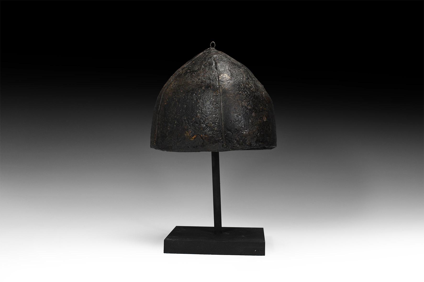 Norman Four-Plate Helmet