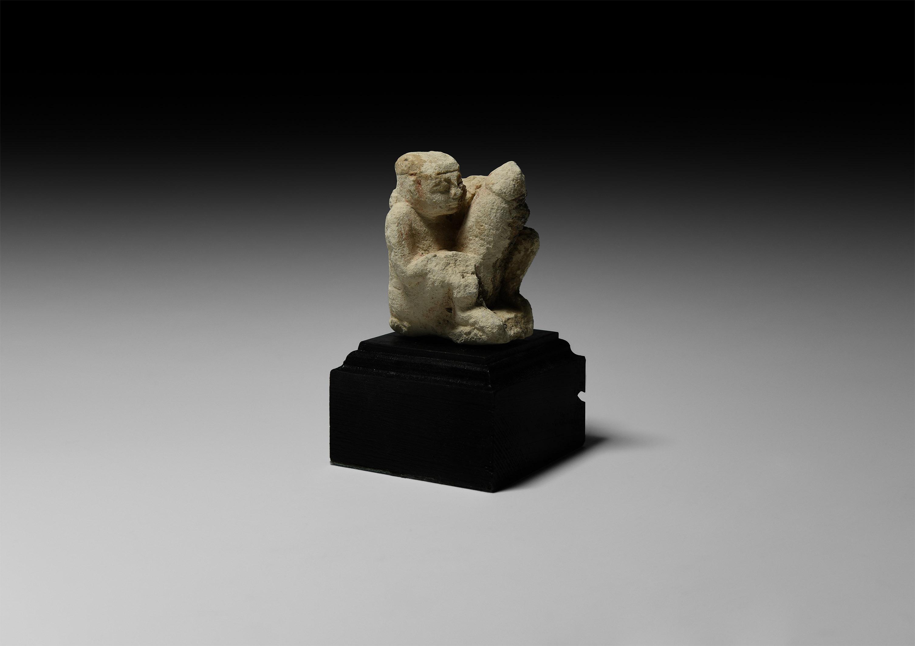 Egyptian Ithyphallic Figure