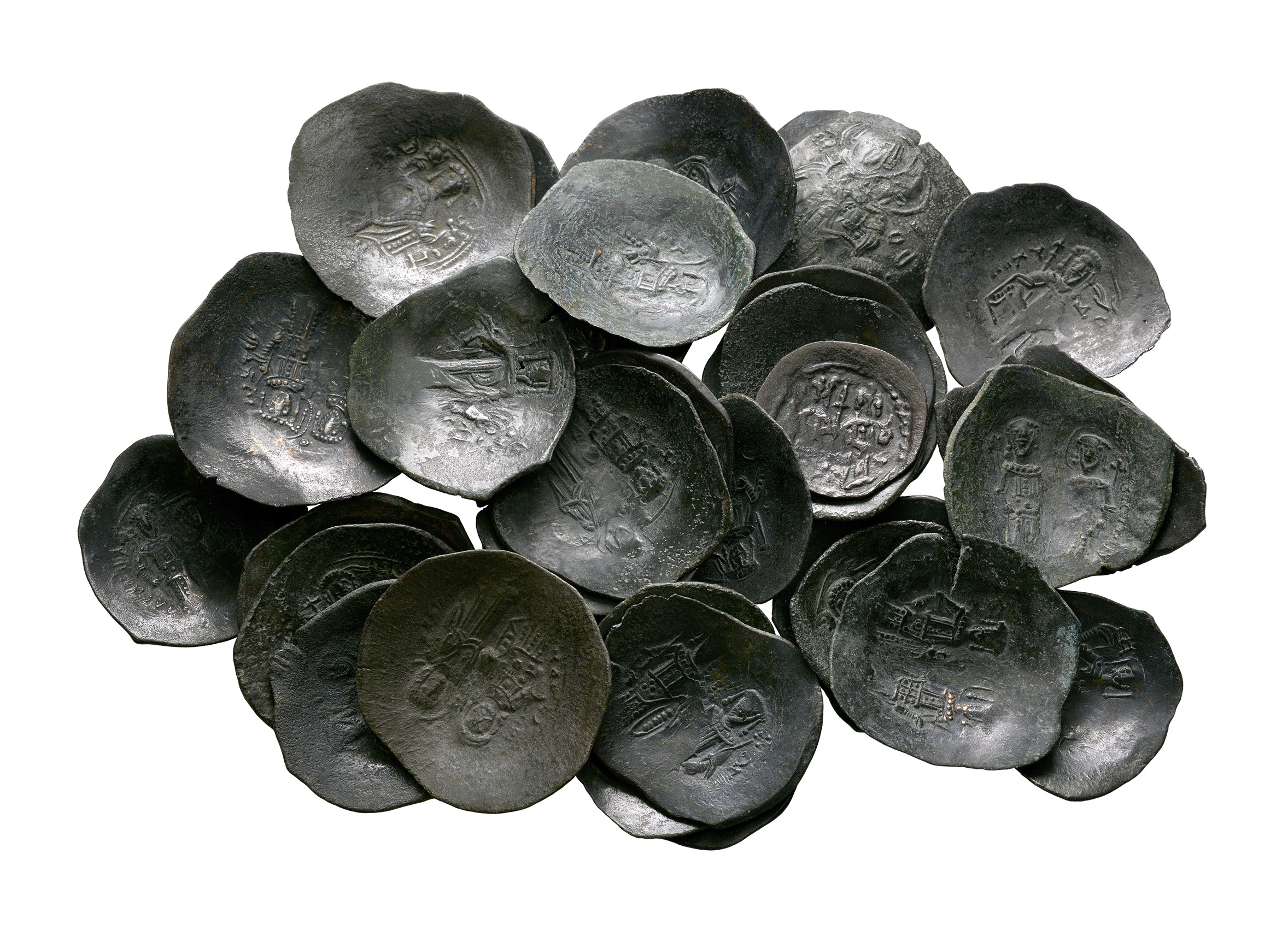 Ancient Byzantine Coins - Trachys Group [35]