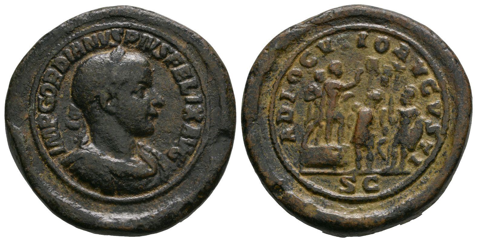 Roman Imperial Coins - Gordian III - Paduan Medallion