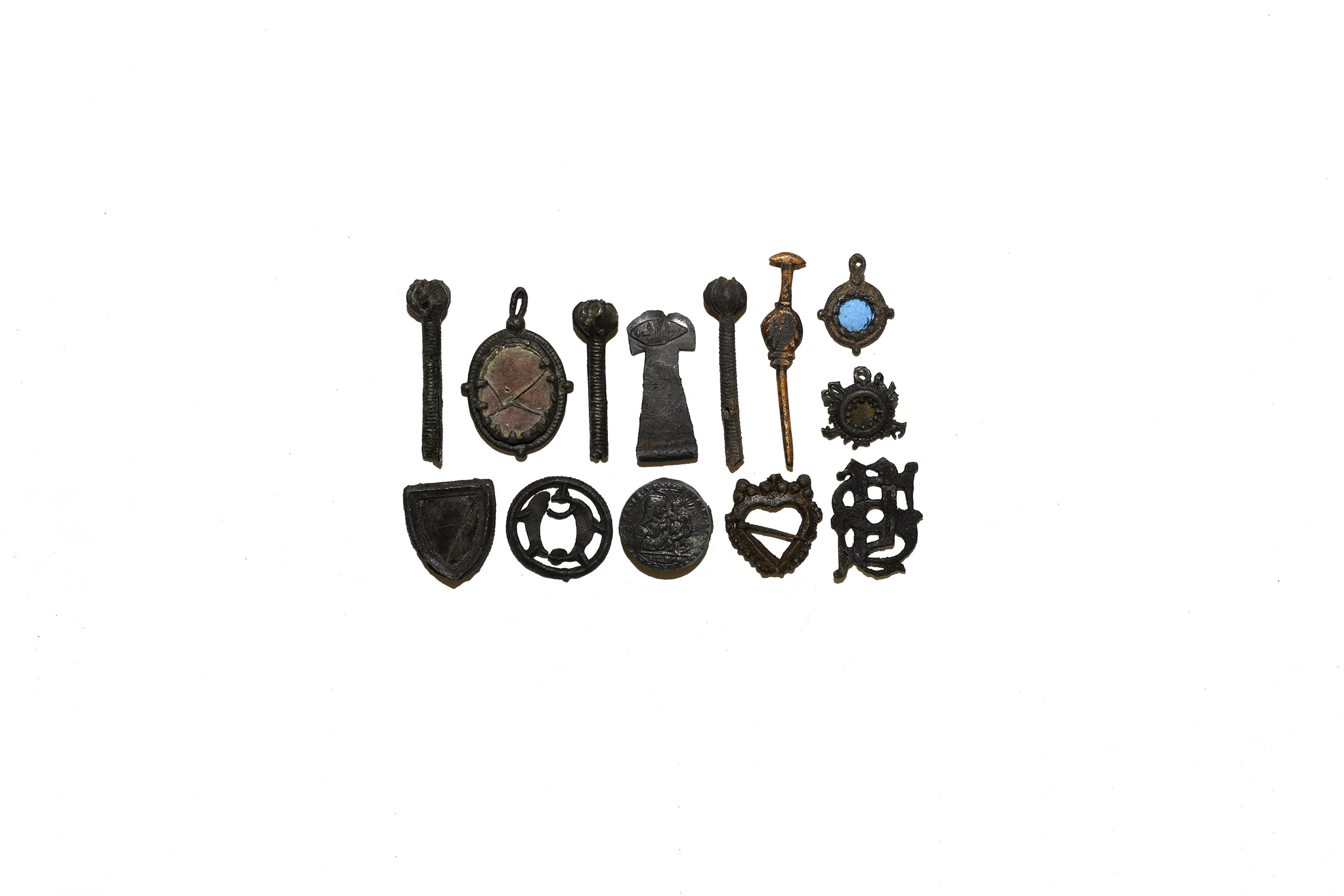 Medieval Pilgrims Badge and Other Artefact Collection