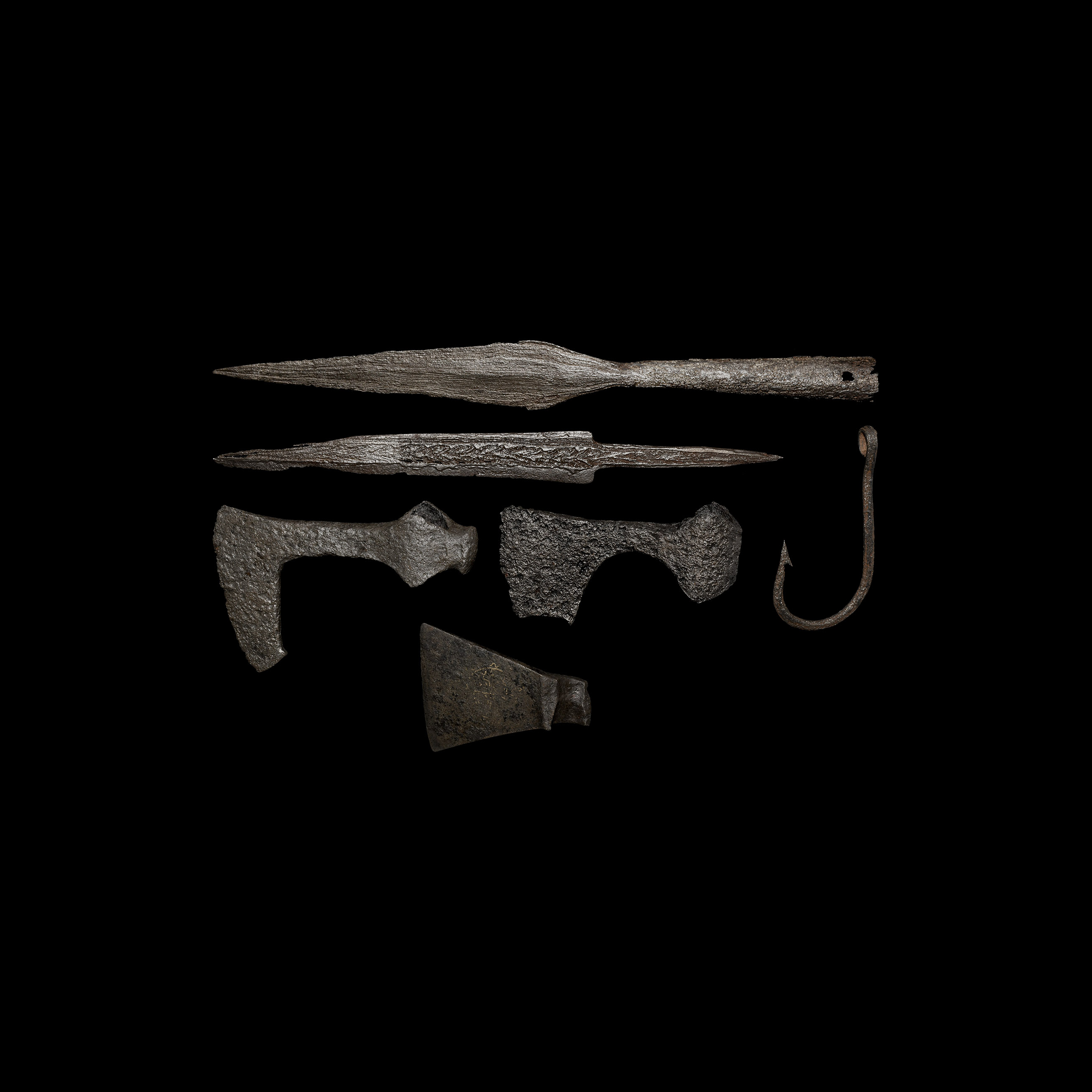 Viking Weapon and Other Artefact Collection